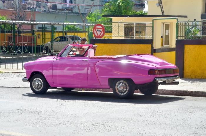 Pink Convertible